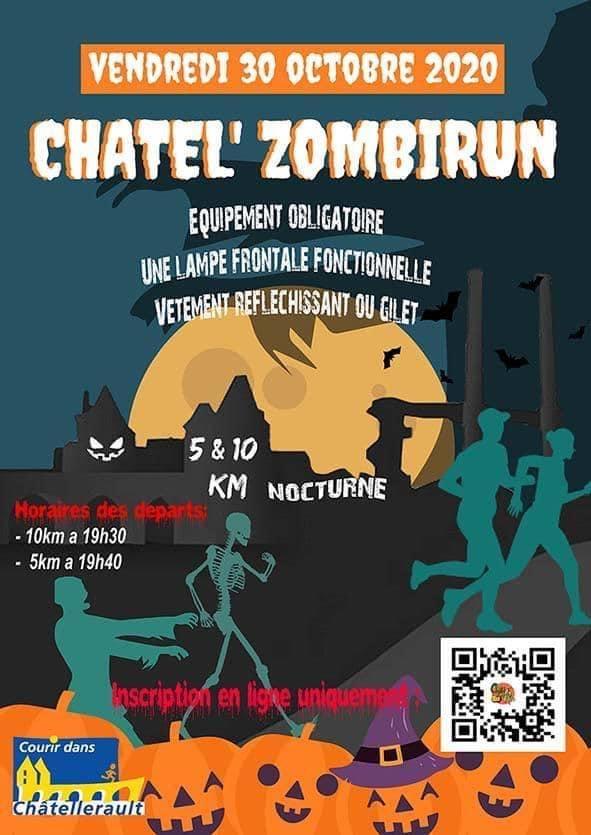 CHATEL ZOMBIRUN 1ERE ÉDITION