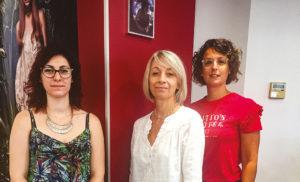 L'équipe de l'Atelier d'Isa
