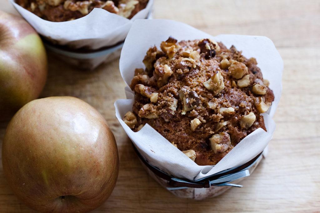 Muffins d'automne au beaufort
