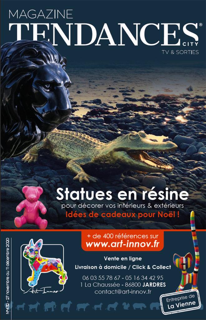 Magazine Tendances N°432 - Couverture Art Innov
