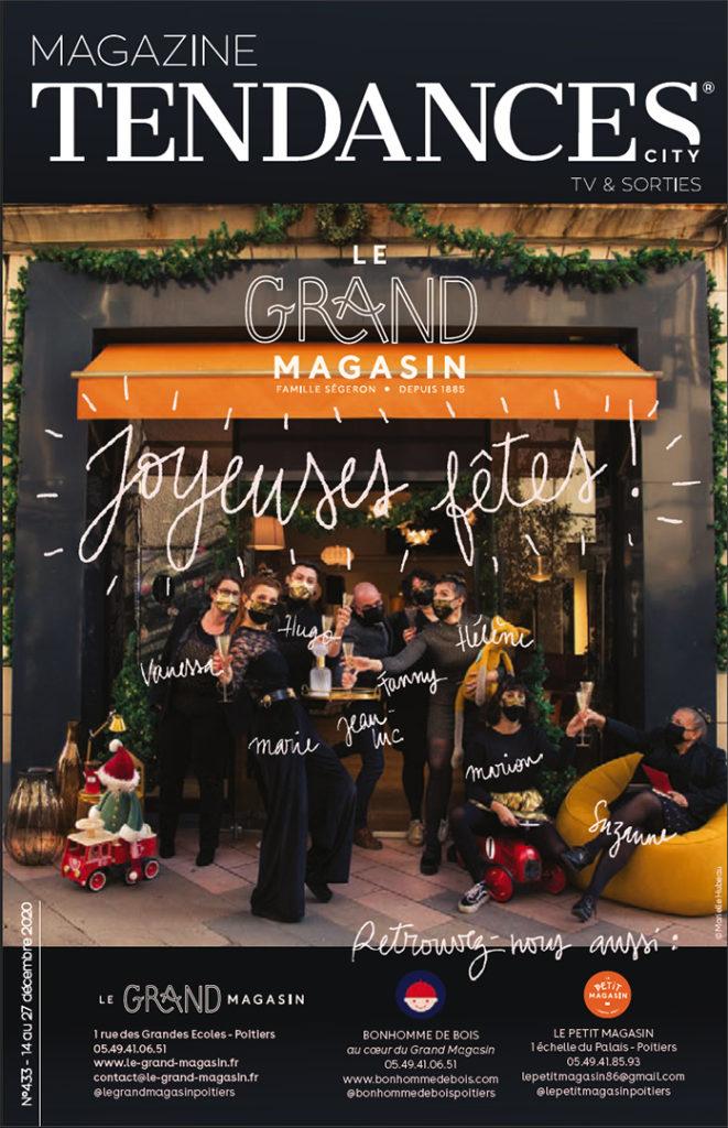 MAGAZINE TENDANCES 433 - COUVERTURE LE GRAND MAGASIN