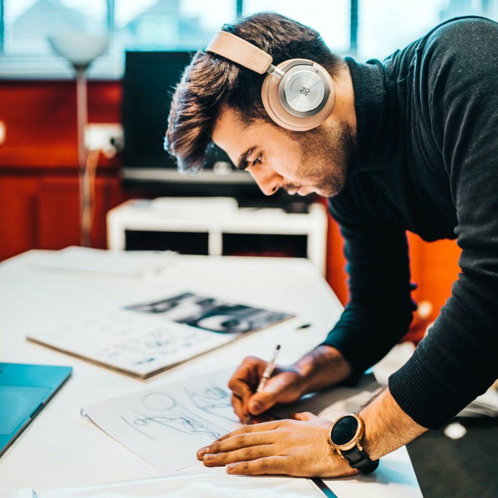 La musique stimulatrice de créativité ©unsplash