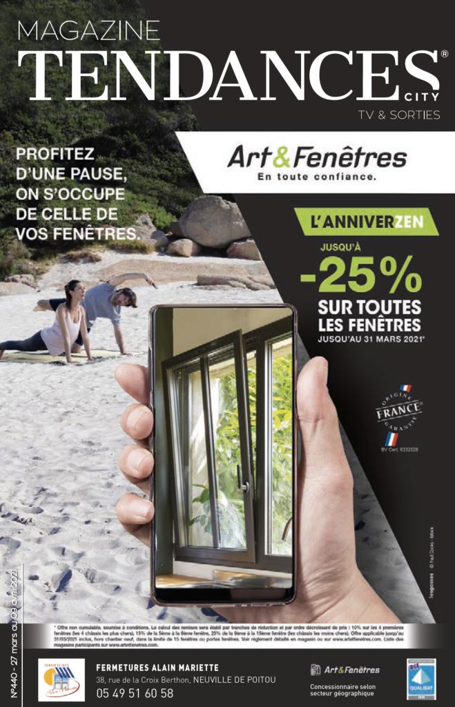 MAGAZINE TENDANCES 440 - ART & FENÊTRES