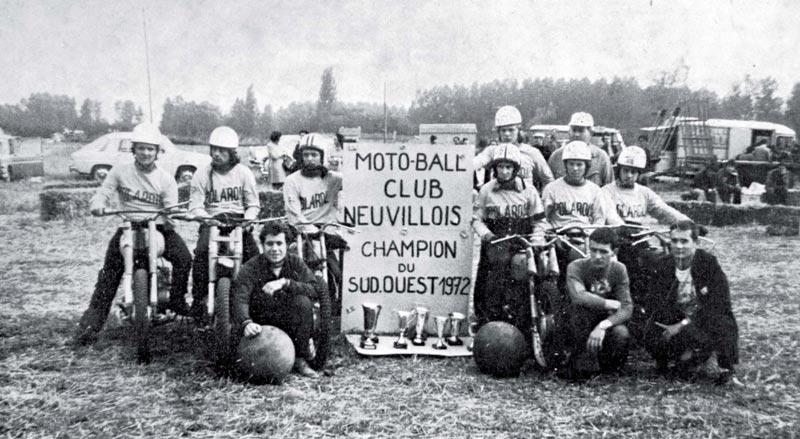 motoball club de Neuville 1972