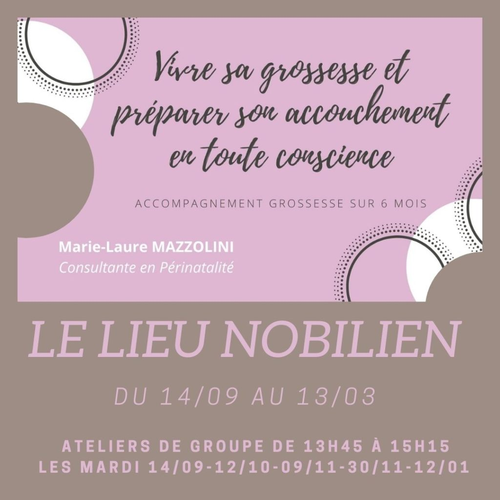 ACCOMPAGNEMENT DE GROUPE GROSSESSE